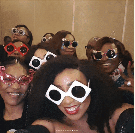 Photo of Photos from Kate Henshaw's 47th birthday dinner