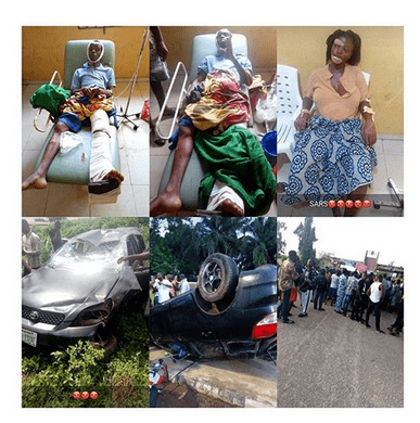 Photo of One of the students who had an accident during a SARS chase, dies