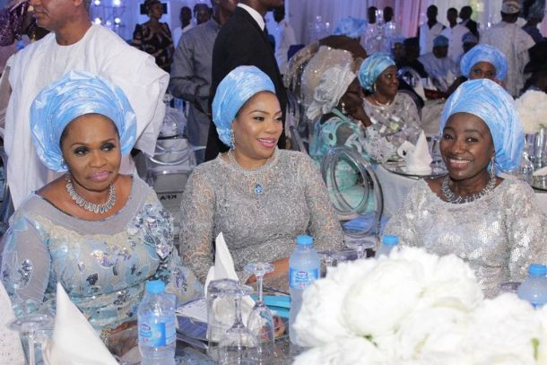 Photo of How Shagaya, Okoya, Mo Abudu, others stormed former Governor Adebayo's Daughter's Wedding (photos)