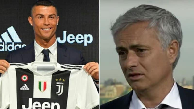 Mourinho speaks on Ronaldo joining Juventus and what it will do to Serie A
