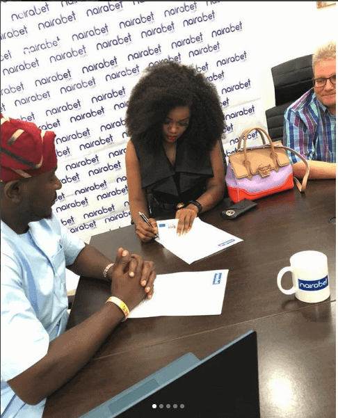 Photo of Cee-C bags endorsement deal with Naira Bet