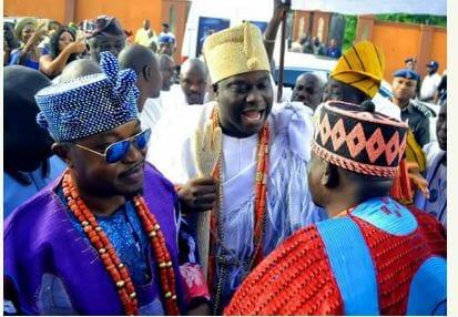 Photo of Ooni of Ife and Oluwo of Iwoland storm high class wedding (photos)