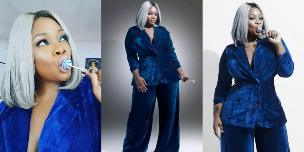 Photo of OAP Toolz has a message for men who send her n**e pictures