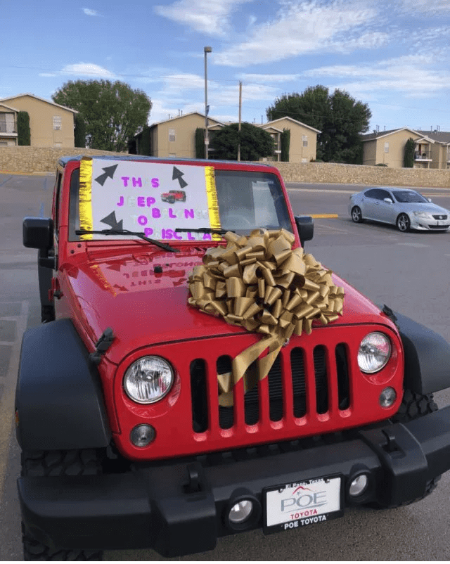 Parents Present Their Daughter With A 2018 Jeep Wrangler As Birthday Gift