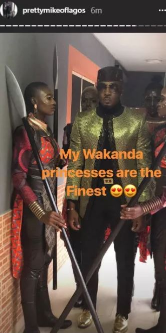 Pretty Mike storms DJ Consequence's wedding