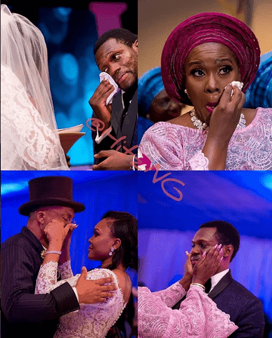 Photo of All the emotional and teary moments at Olu Jacobs and Joke Silva's son wedding to Boma Douglas (photos)