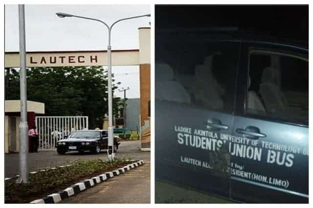 LAUTECH students accuse SARS of opening fire on SUG bus