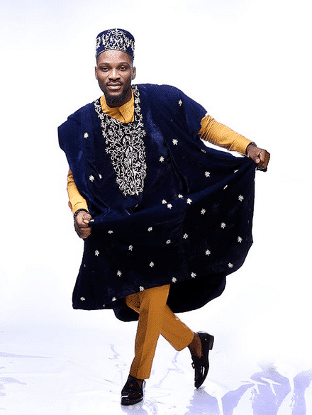 Photo of Homecoming: BBNaija's Tobi Bakre celebrated in his hometown in Ogun state (PHOTOS)