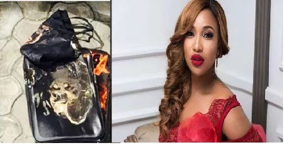 Photo of Tonto Dikeh apologizes to former personal shopper whose bags she burnt publicly years ago