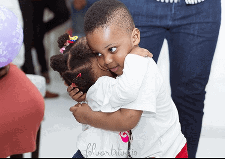 Photo of Ubi Franklin's son, Jayden had so much fun at his birthday party (photos)