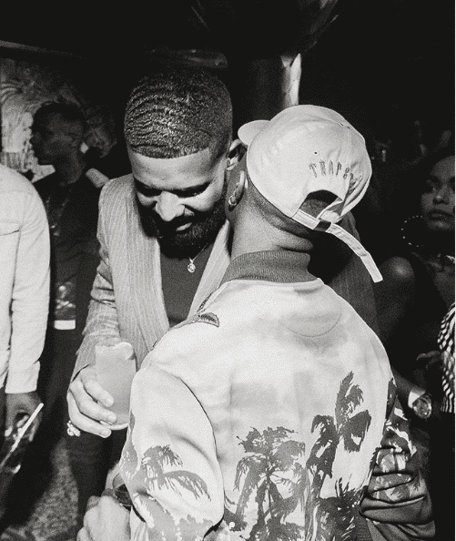 Photo of Wizkid finally gets  to meet with Drake at London event (photos)