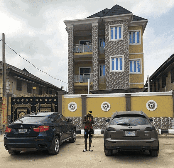 Photo of Super Falcons player, Asisat Oshoala gifts her parents a mansion, thanks Omeruo (PHOTOS)