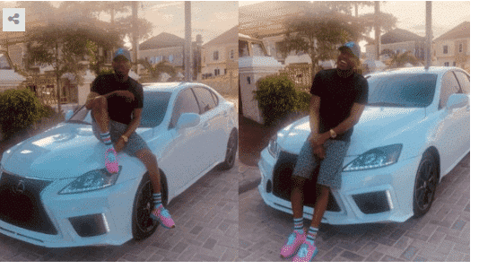 Photo of Mr 2kay shows off his brand new 2015 Lexus 250 (Photos)