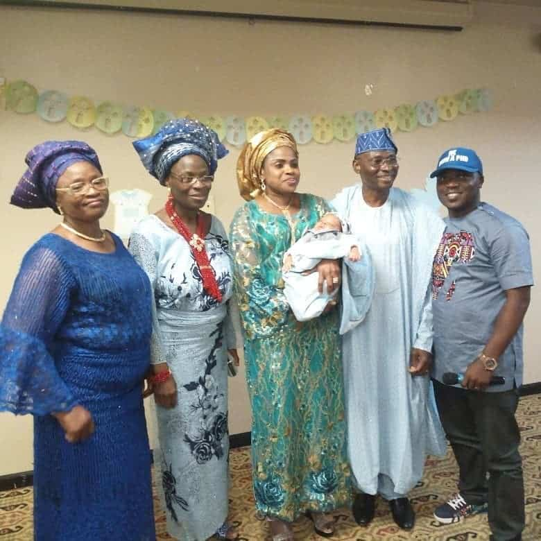 Photo of Nigerian couple welcome baby after 37 years of marriage (photos)