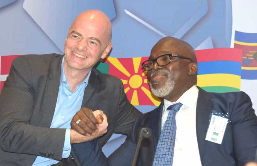 Photo of FIFA President congratulates Amaju Pinnick