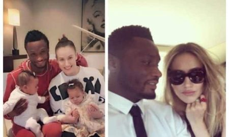 Mikel Obi's wife denies reports that he does not help his family