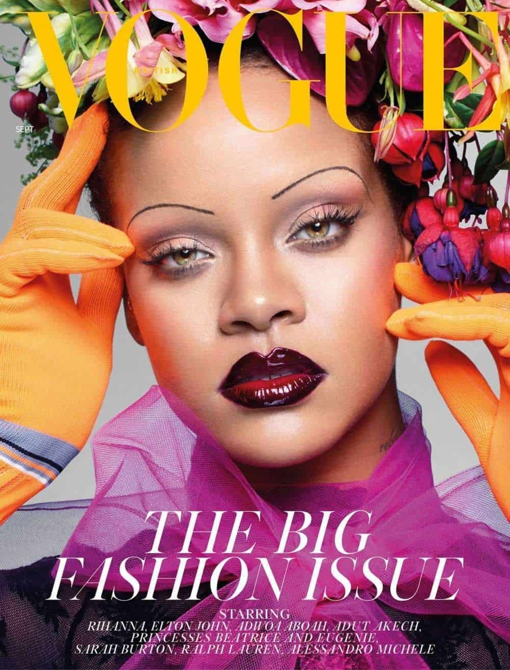 Photo of Rihanna makes history as she covers British Vogue magazine September edition