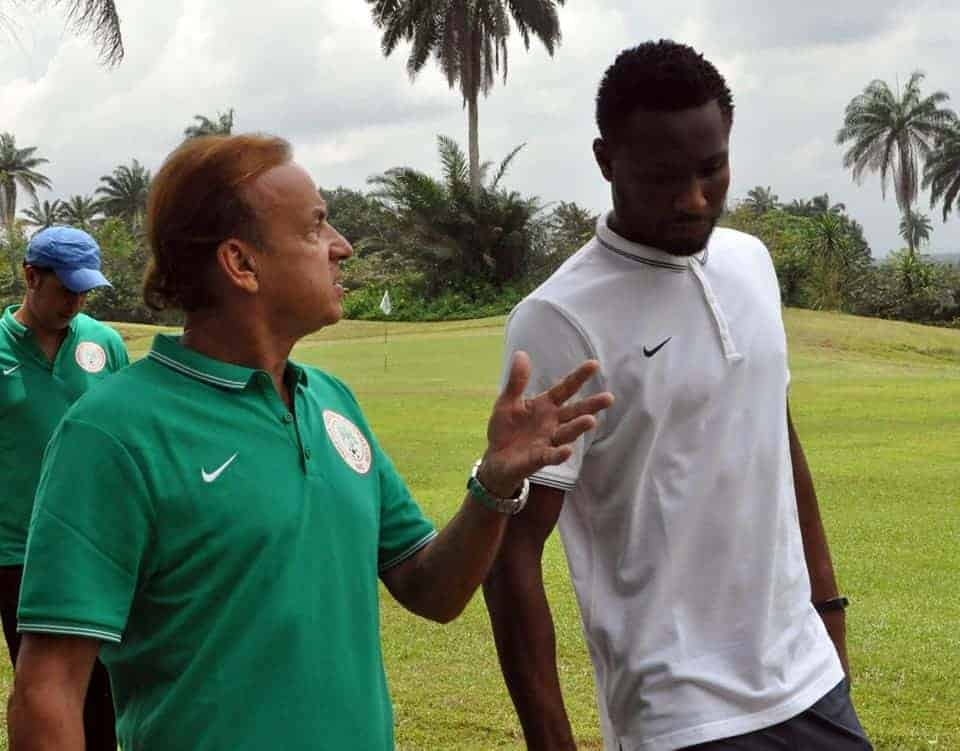 Gernot Rohr to drop 7 Super Eagles players including Mikel and Ighalo