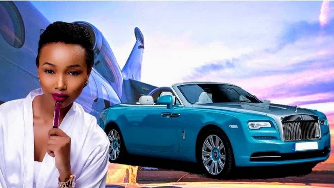 Huddah Monroe stopped flaunting her cars on Instagram