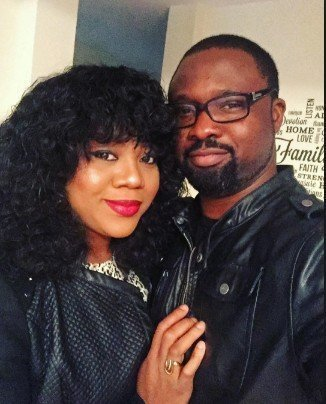 Meet me in the other room - Stella Damascus says as she wishes hubby a happy birthday
