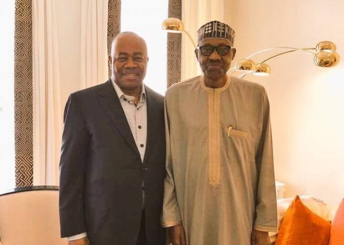 Image result for The plan is to install Akpabio as Senate President and impeach Saraki - Ben Bruce