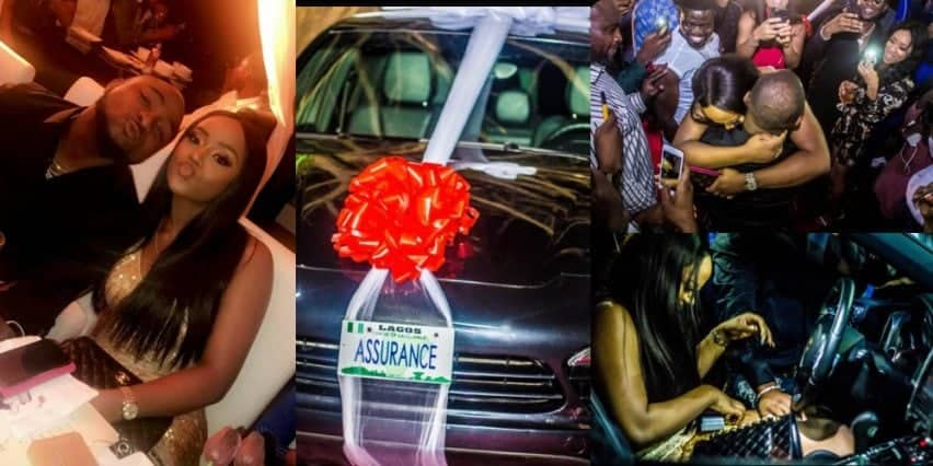 Photo of Davido explains why Chioma is yet to drive her Assurance Porsche
