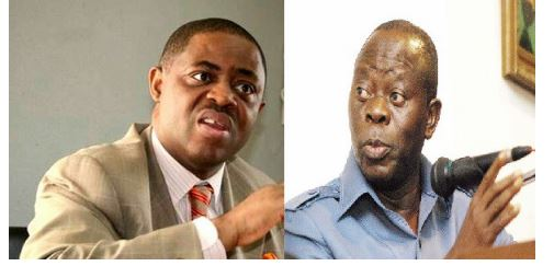 "Photo of ""Oshiomhole is uglier than a baboon. He looks like a product between an Orangutan and a Gorilla"" – Femi-Fani Kayode"