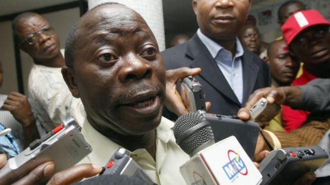 Adams Oshiomhole: APC Chairman makes terrible English blunder (VIDEO)