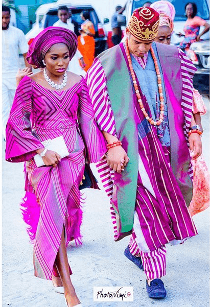 Photo of #ibiBru2018: Oscar Ibru's son, Chris weds his Ondo bride, Ibiyinka in a colourful ceremony
