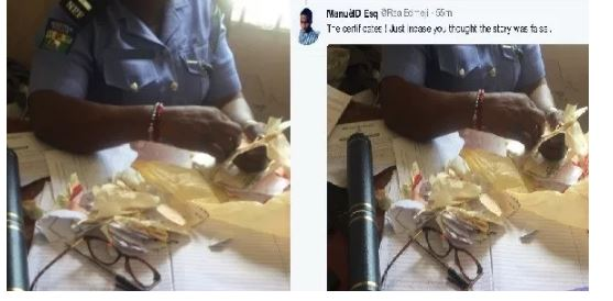 Photo of Lady shreds boyfriend's Call to Bar certificate, destroys his TV because she was angry