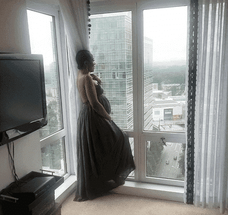 Photo of Linda Ikeji arrives Atlanta to have Precious Baby (photos)