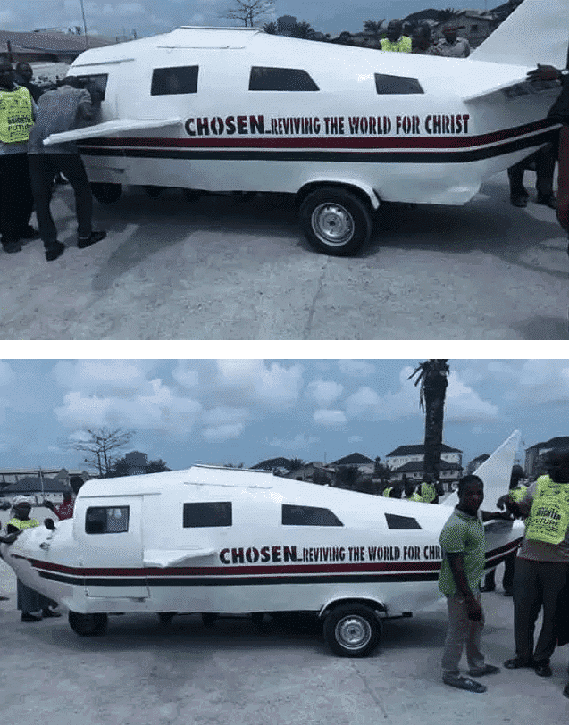 Photo of Lord's Chosen Church launches 'Land Craft' for publicity in Lagos (Photos)