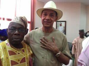 Ben Bruce praises Obasanjo for medical check up Bayelsa, shades Buhari for going to London