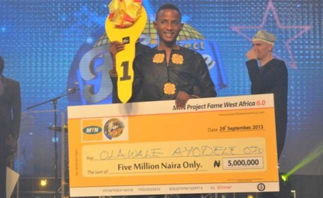 Photo of 2013 Project Fame winner, Olawale Ojo, turns cab driver