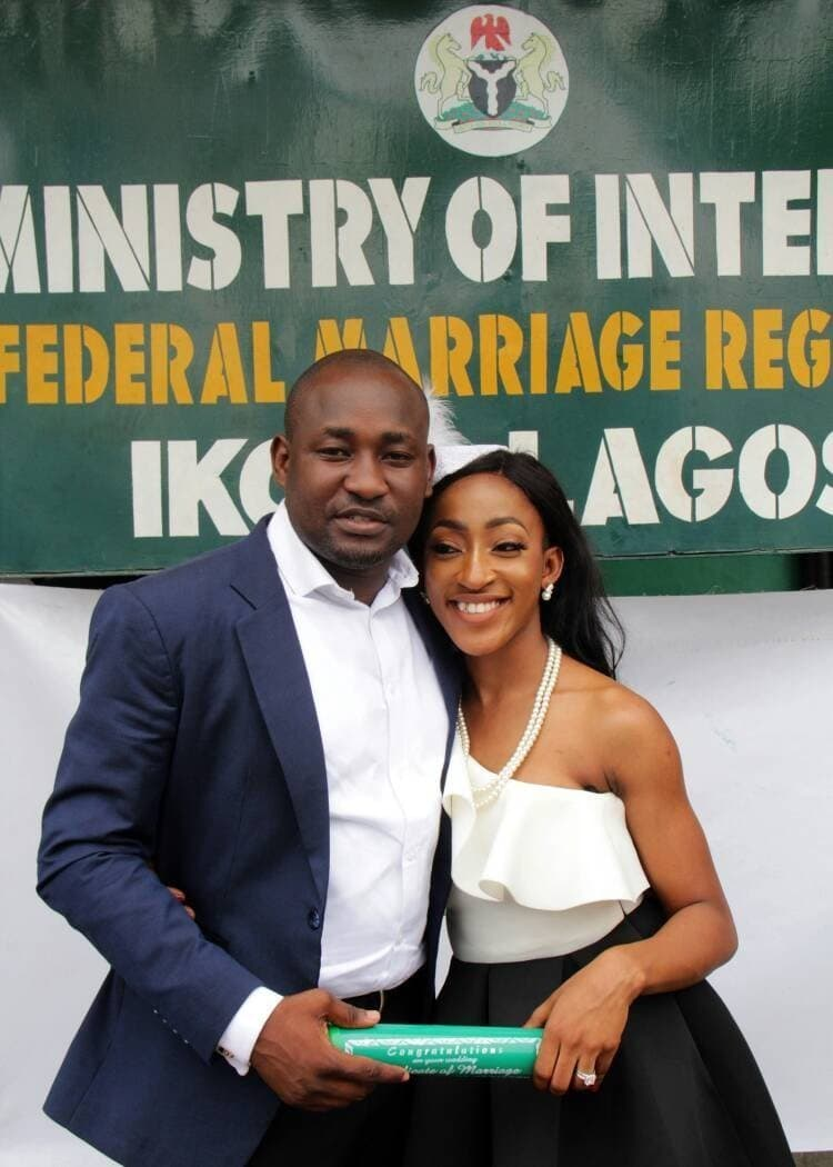 Photo of Interesting twitter love story of a newly wed Nigerian couple (photos)