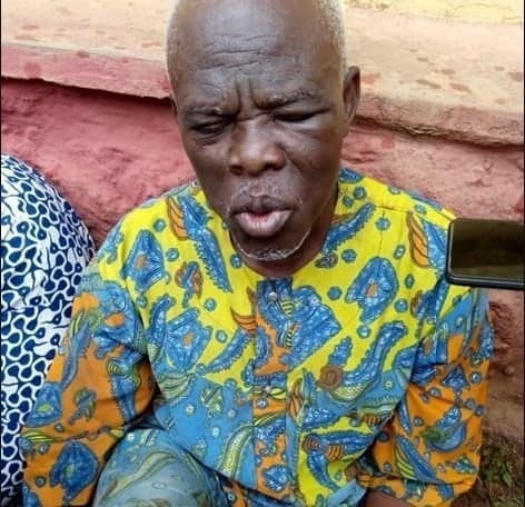 Photo of 62-year old herbalist nabbed while trying to kill his apprentice for ritual