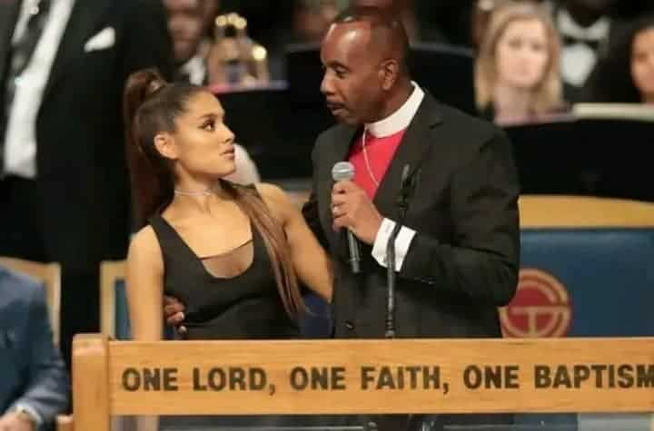 Ariana Grande sexually harrassed by Bishop Ellis on live TV