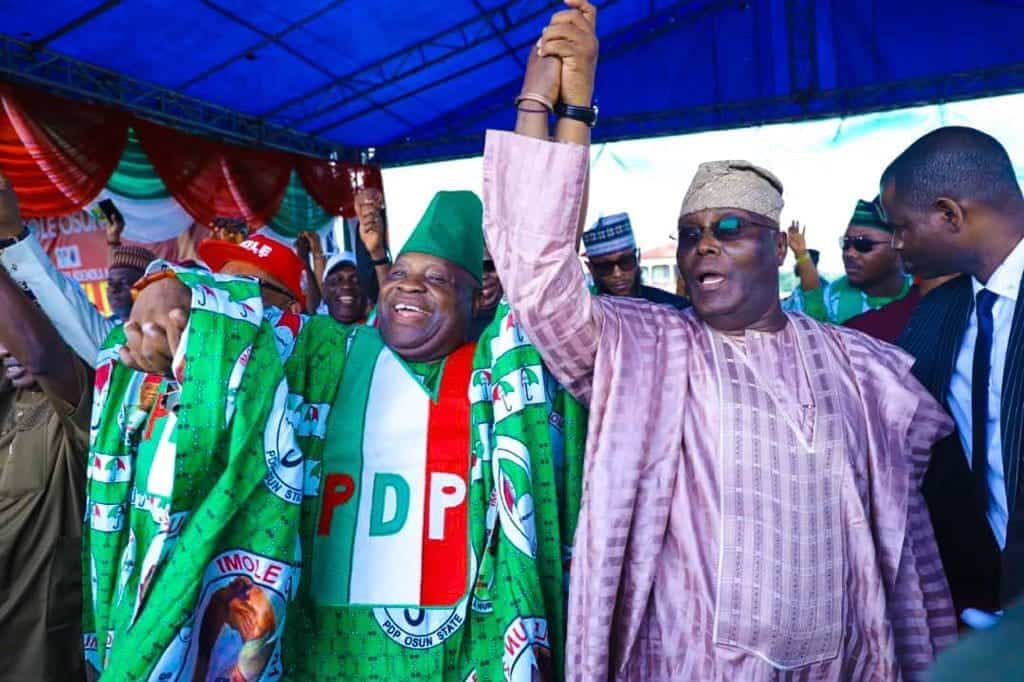 Photo of Osun Decides 2018: PDP asks INEC to declare Senator Adeleke winner