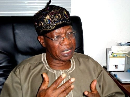 Photo of Lai Mohammed speaks on religious intolerance in Buhari administration