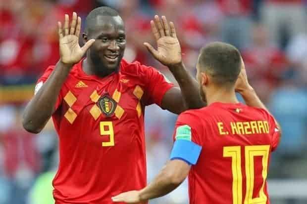Photo of Hazard and Lukaku on target as Belgium spank Scotland