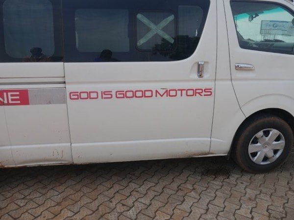 Photo of Passengers of God is Good Motors Kidnapped on Express way (details)