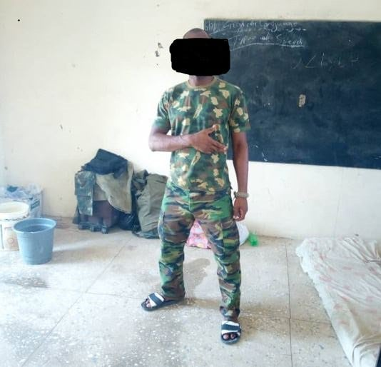 Photo of How Nigerian soldiers fighting Boko Haram beg for food, wear slippers to war front and sleep in classrooms