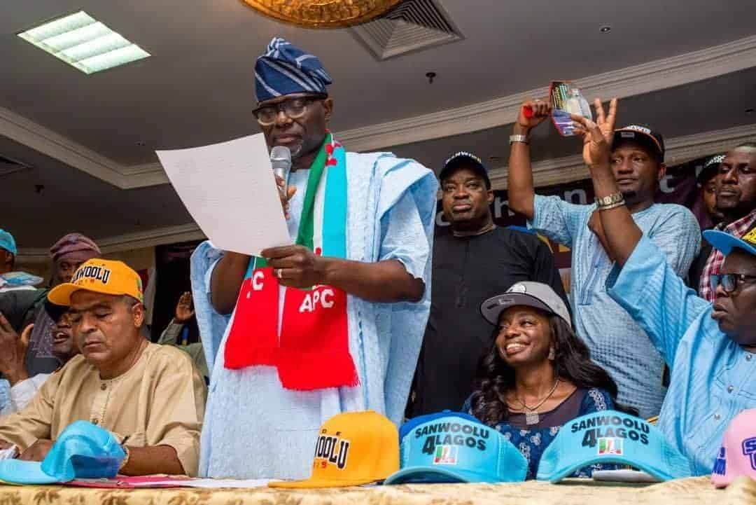Photo of Jide Sanwo-Olu officially declares intention to run in Lagos gubernatorial election (READ FULL SPEECH)