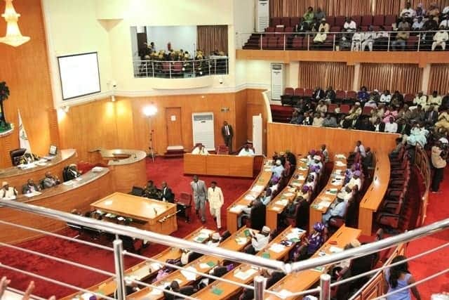 Photo of 36 of 40 Lagos Lawmakers declare support for Sanwoolu, reject Ambode