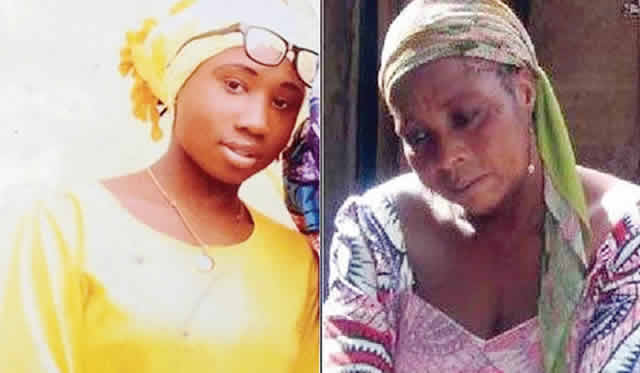 Photo of Leah Sharibu's mother weeps over Boko Haram's October death threat