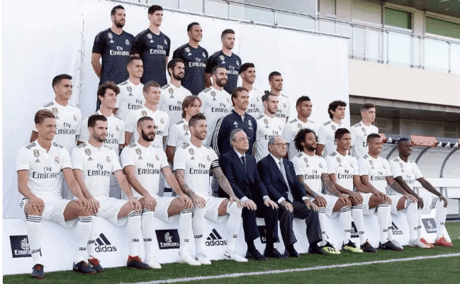 Photo of No Cristiano Ronaldo in Real madrid's first official team photo | first time in 10 years