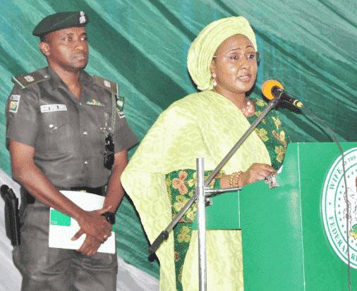 Photo of N2.5bn fraud: Aisha Buhari speaks on the arrest of her ADC, Sani Baban-Inna