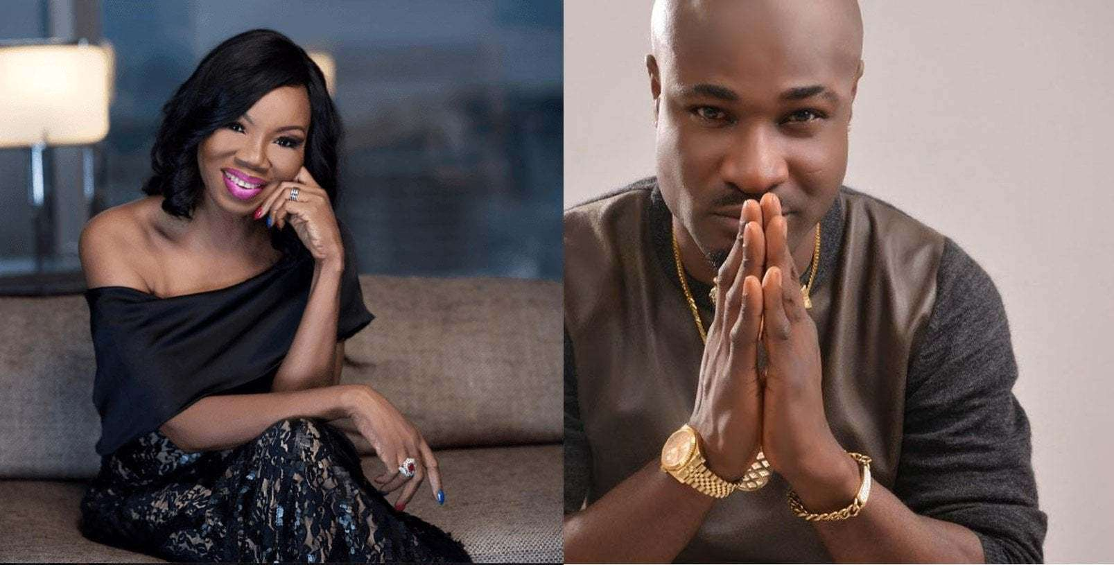 Photo of Betty Irabor advises Harrysong on how to overcome depression