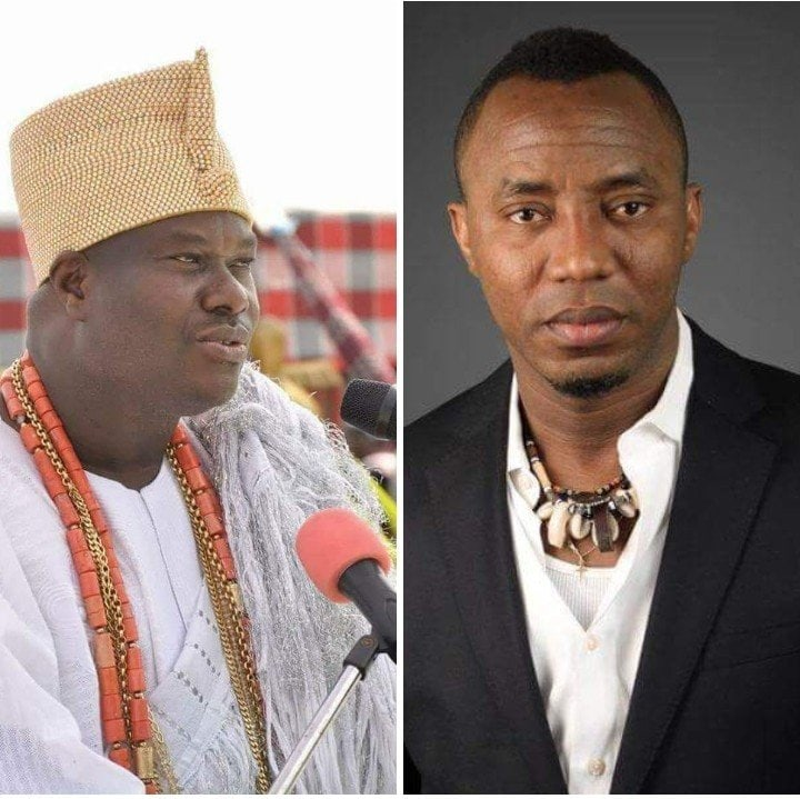 Photo of Sowore could have been turned to a goat for desecrating Ooni's palace