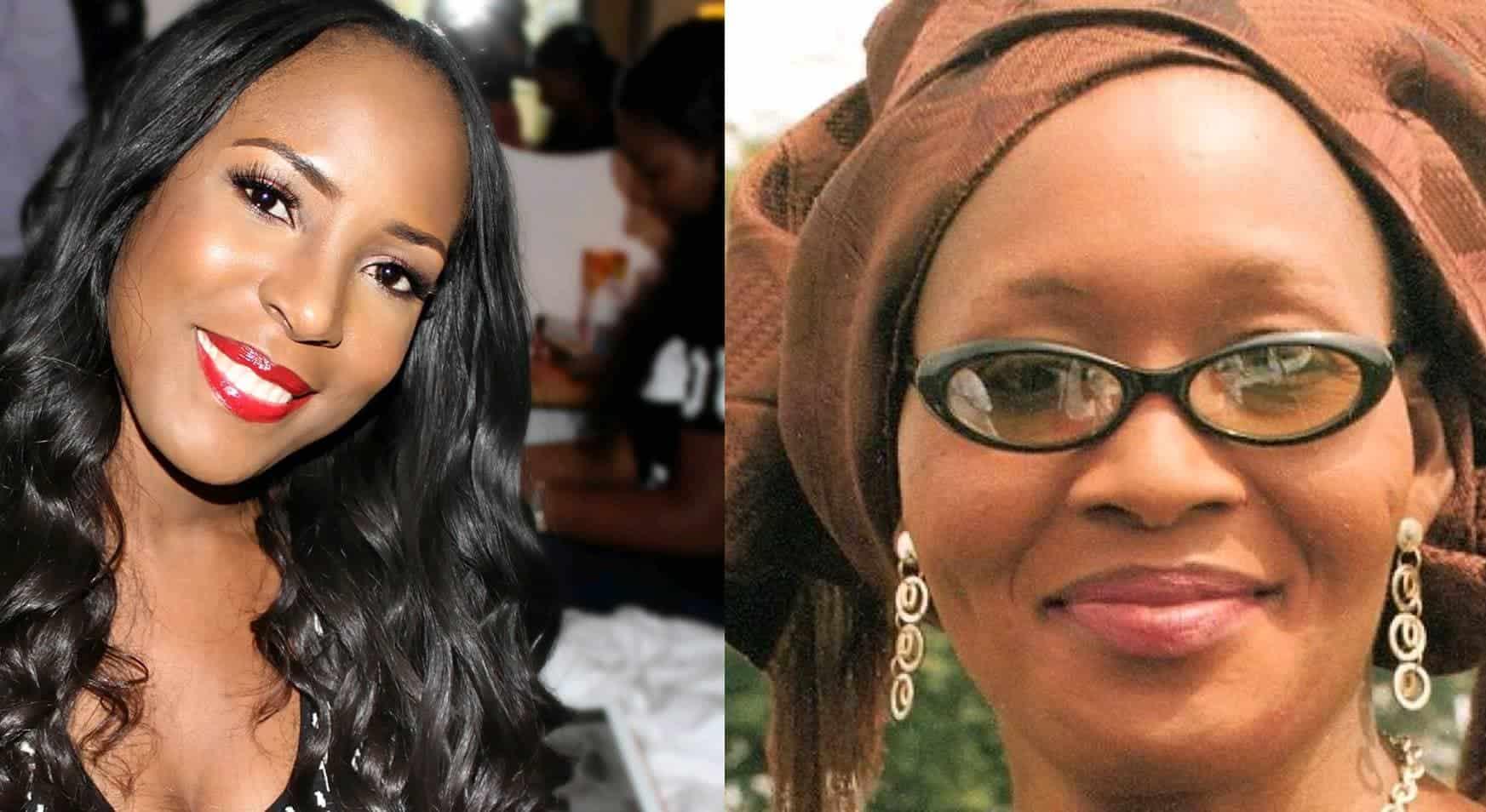 Photo of Kemi Olunloyo fires Linda Ikeji again, says Baby J is a surrogate baby